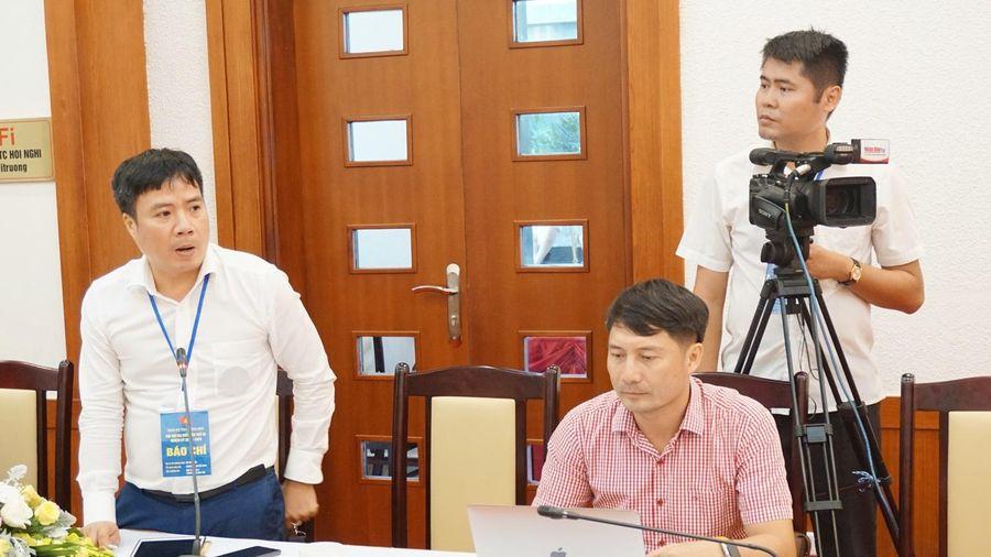 Họp báo thông tin về kết quả Đại hội Đại biểu Đảng bộ tỉnh Quảng Ninh lần thứ XV