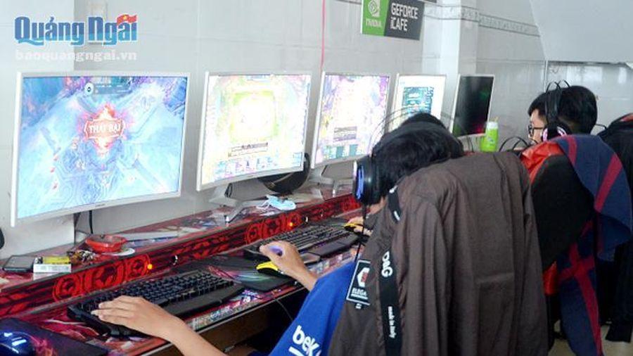 Tăng cường quản lý dịch vụ Internet và trò chơi điện tử