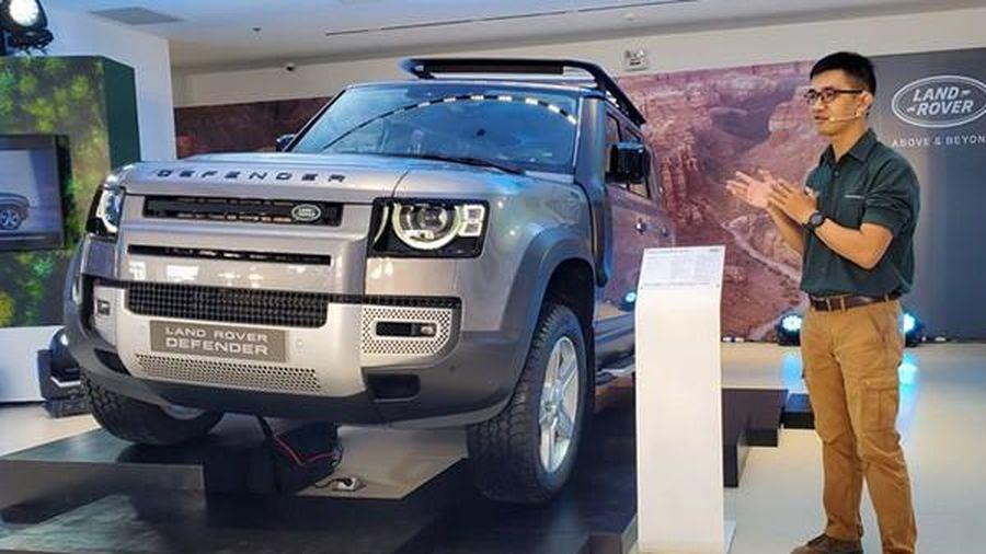 Cận cảnh Land Rover Defender 2020 giá từ 4 tỷ