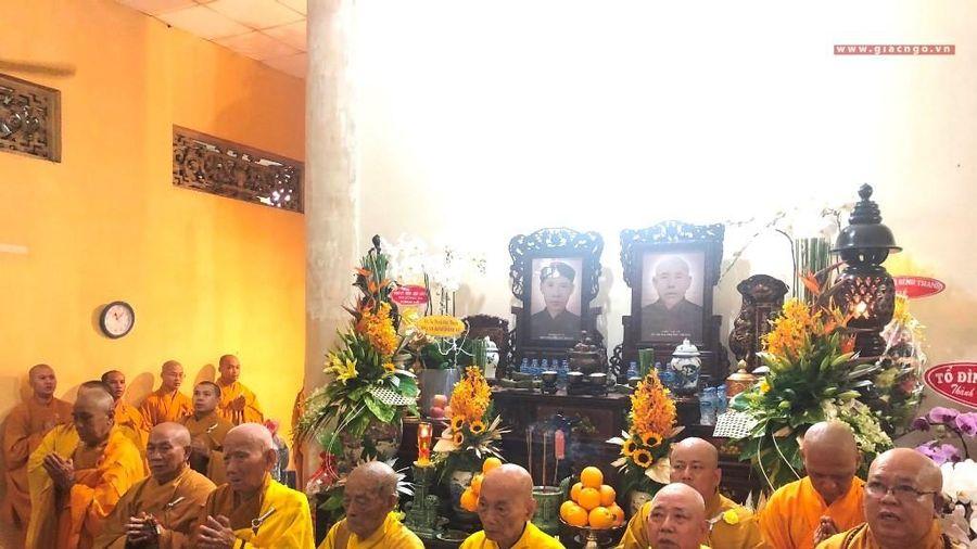 Tưởng niệm húy nhật Trưởng lão HT.Thích Minh Nhuận