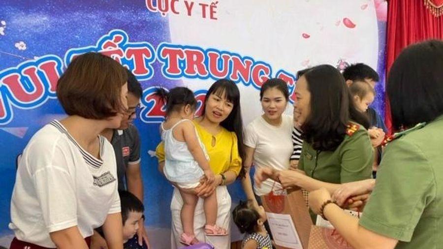 Cục Y tế Bộ Công an tổ chức Trung thu cho con em CBCS đơn vị