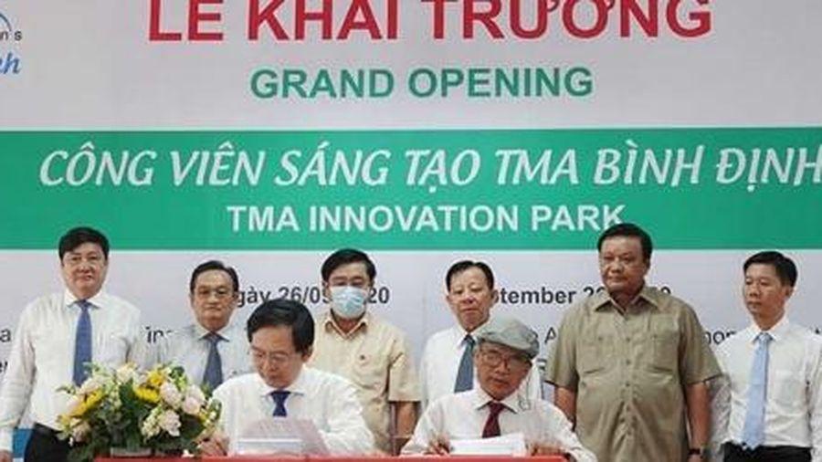 Bình Định: Khai trương công viên sáng tạo TMA