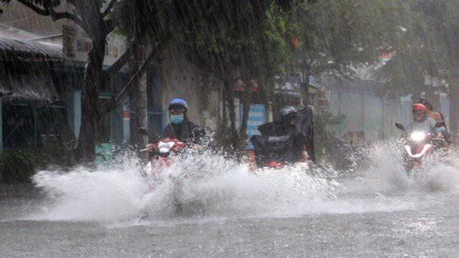Sáng nay, các tỉnh Bắc Bộ có mưa to