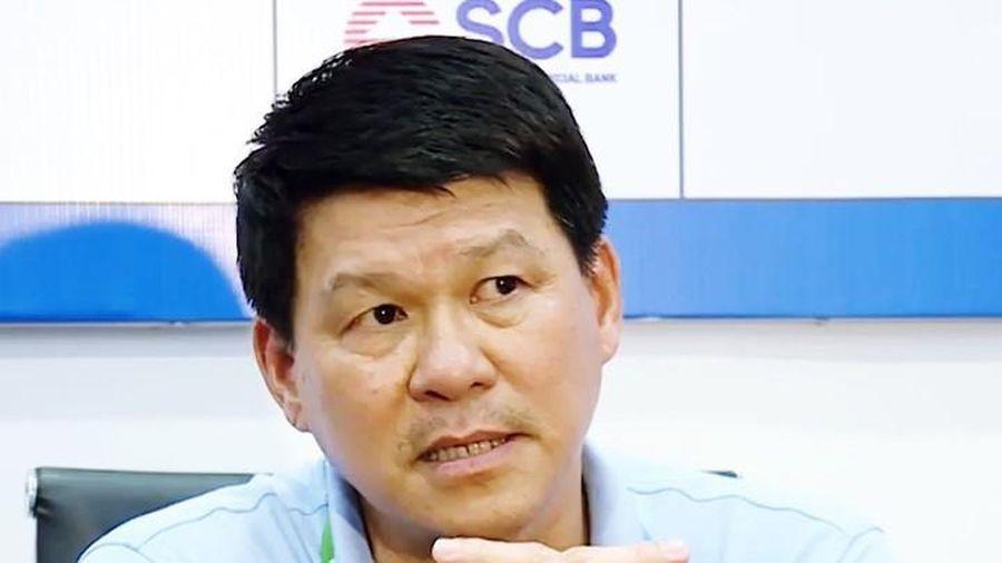 HLV Vũ Tiến Thành: Sài Gòn FC đặt mục tiêu vô địch lượt đi