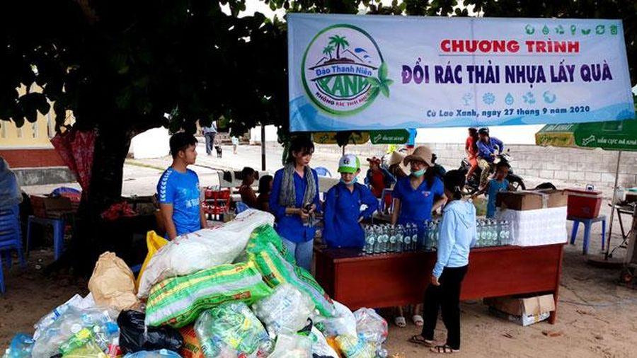 Nhiều hoạt động của tuổi trẻ trong phong trào 'Chống rác thải nhựa'