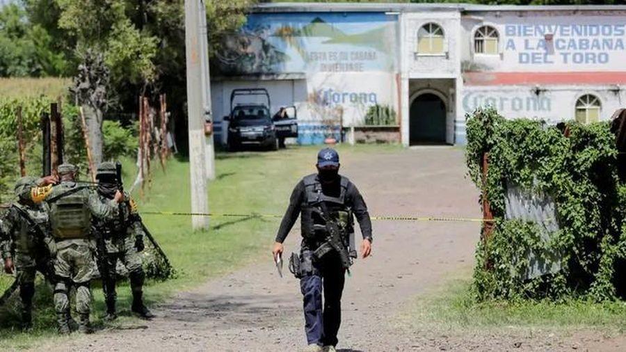 11 người thiệt mạng trong quán bar ở Mexico, thi thể có nhiều vết đạn bắn
