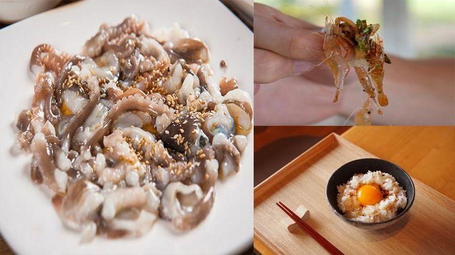Những món ăn tươi sống được yêu thích trên thế giới