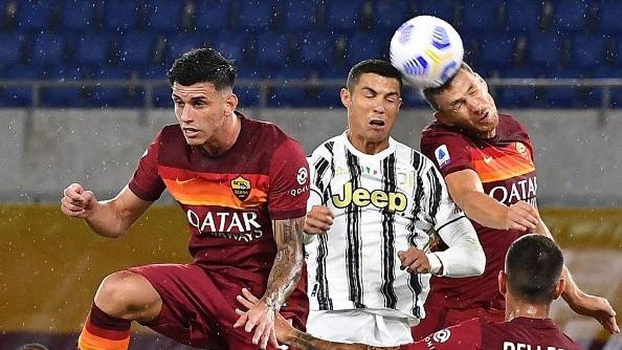 Ronaldo bùng nổ, Juventus nhọc nhằn rời thành Rome với 1 điểm