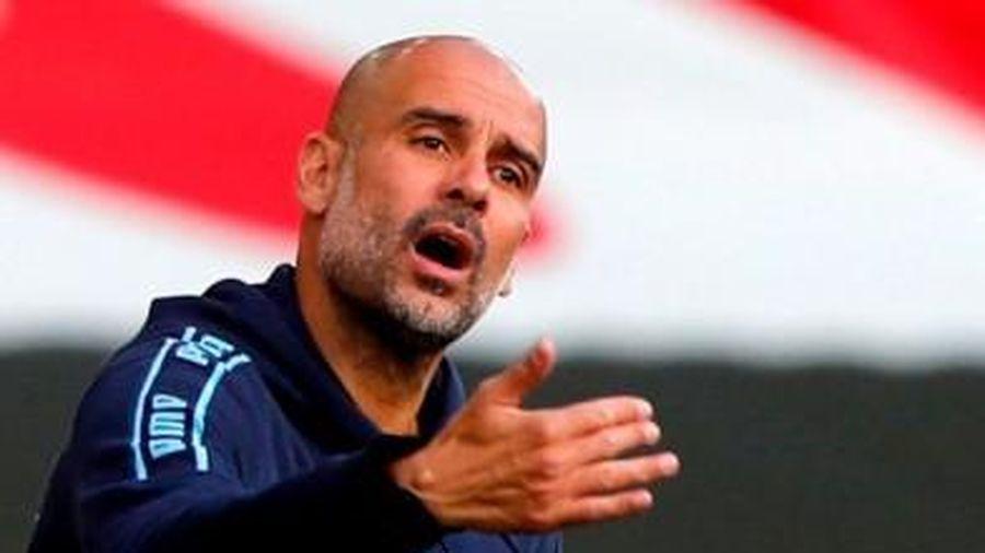 Pep Guardiola nói gì khi Man City bị Leicester City làm nhục?