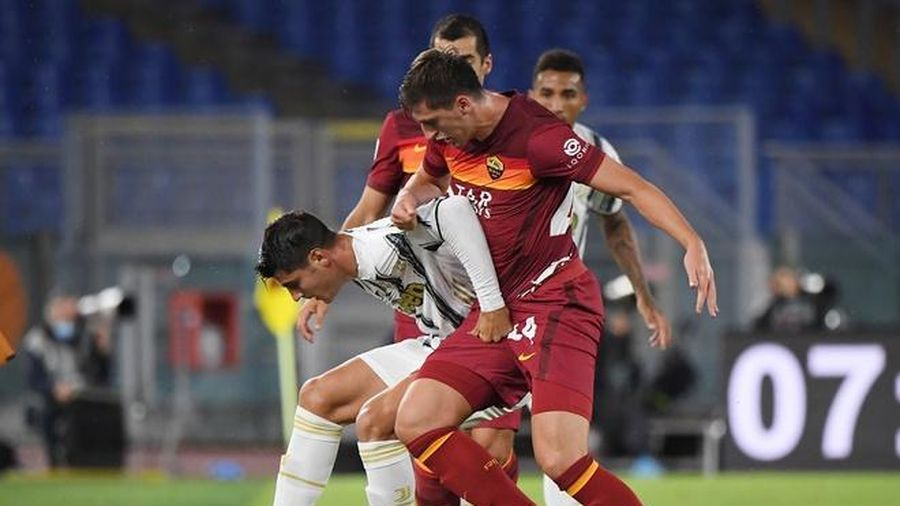 Roma 2-1 Juventus: Ronaldo ghi bàn