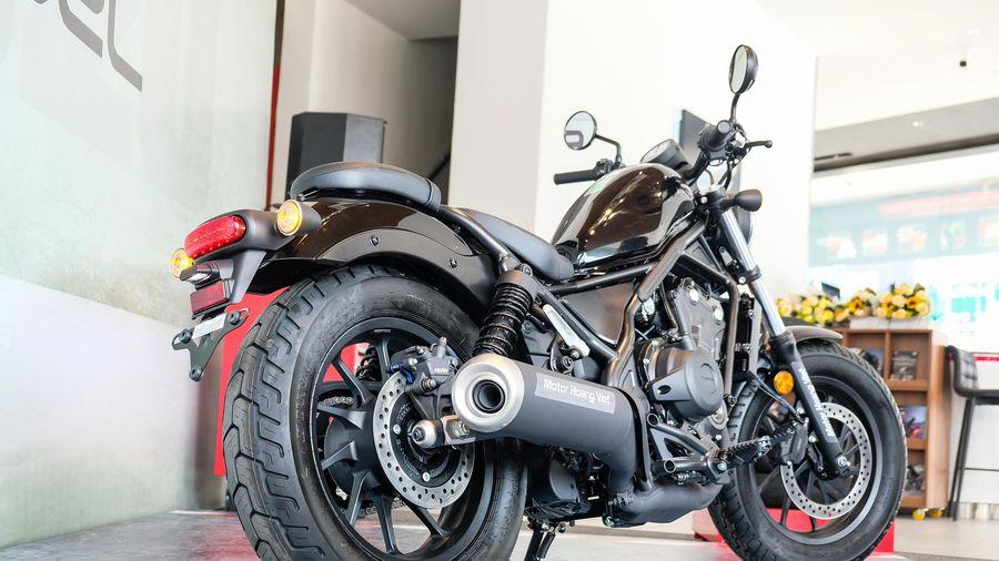 Đánh giá nhanh Honda Rebel 500 2020 giá 180 triệu đồng