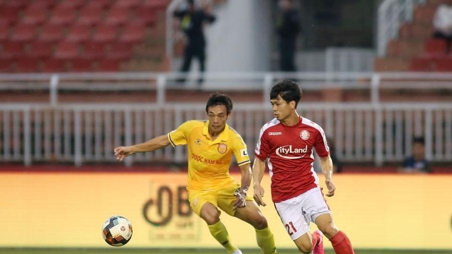 Màn về đích lượt đi V.League 2020: Sài Gòn FC thất thủ, Thanh Hóa lâm nguy, TP.HCM đại thắng