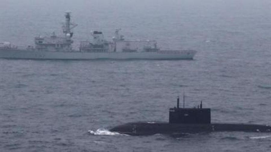 Mỹ hoảng sợ tìm kiếm tàu ngầm Nga 'mất tích' tại Syria