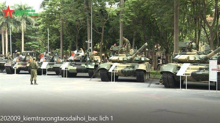 Ngắm dàn xe tăng hiện đại nhất Việt Nam
