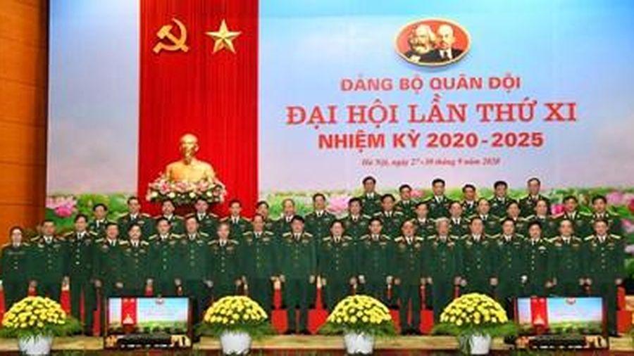 Hôm nay (28-9), khai mạc trọng thể Đại hội đại biểu Đảng bộ Quân đội lần thứ XI