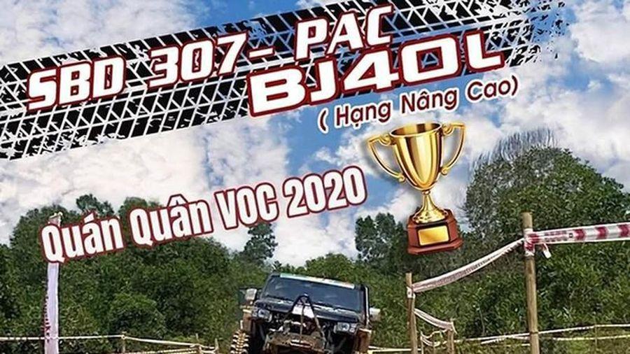 Xe 'Tàu' BAIC vô địch giải off-road lớn nhất Việt Nam