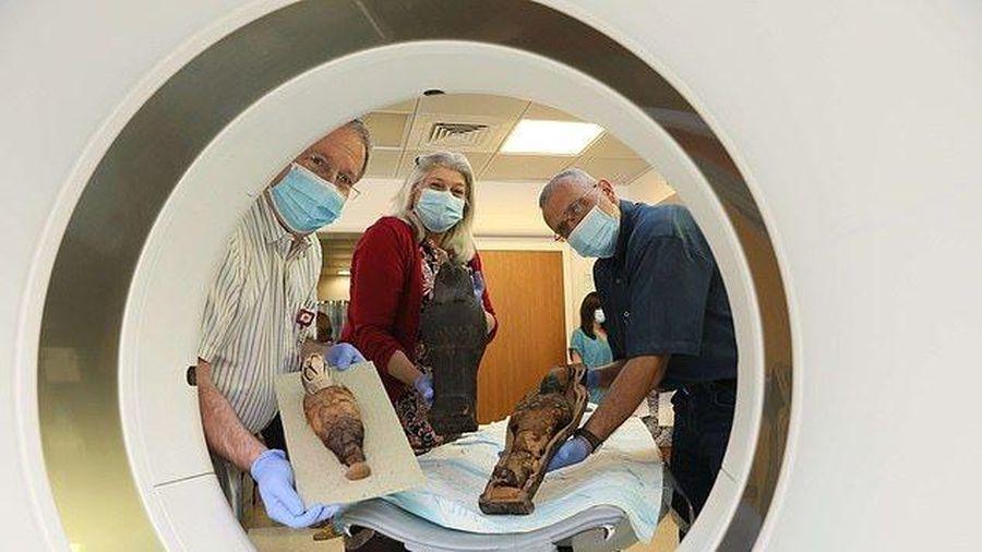 Xác ướp 3.000 tuổi chụp CT 'khám sức khỏe', tiết lộ bí mật ẩn chứa sau lớp bọc vải lanh