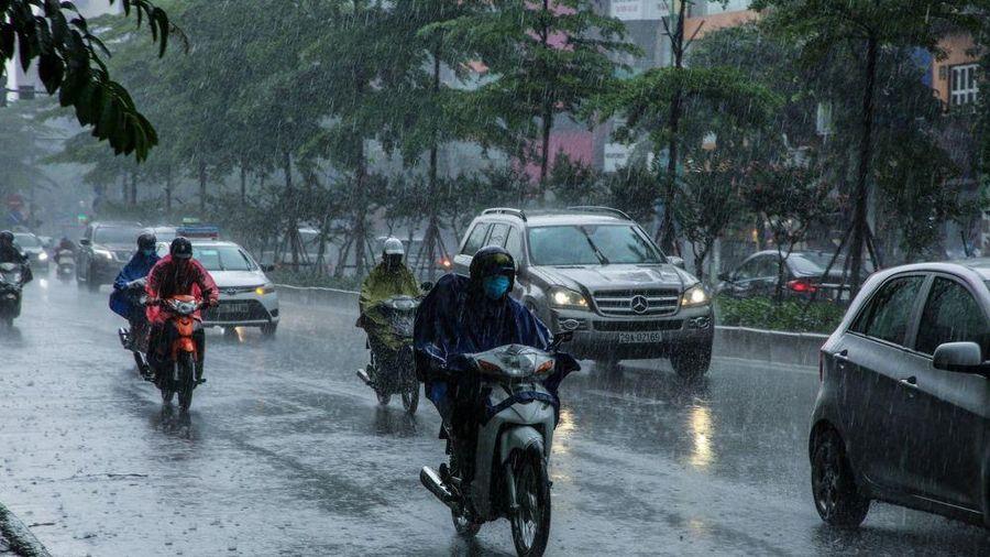 Dự báo thời tiết ngày và đêm nay (28/9): Cả nước có mưa rào và dông, cục bộ mưa vừa mưa to; Nam Trung Bộ ngày nắng