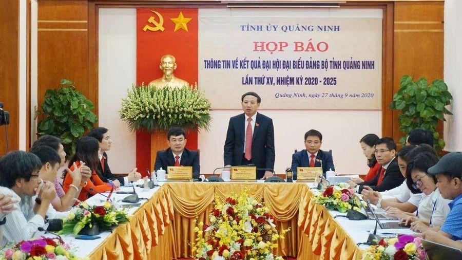 Đại hội Đại biểu Đảng bộ tỉnh Quảng Ninh lần thứ XV, nhiệm kỳ 2020-2025 thành công tốt đẹp