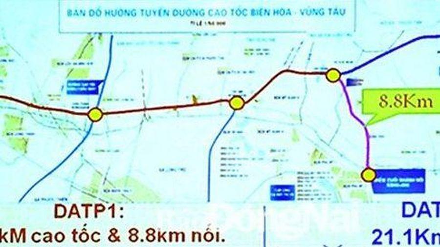 Thống nhất phương án xây dựng đường cao tốc Biên Hòa - Vũng Tàu
