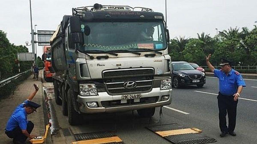 Hà Nội dự kiến lắp 15 trạm cân kiểm soát xe quá tải
