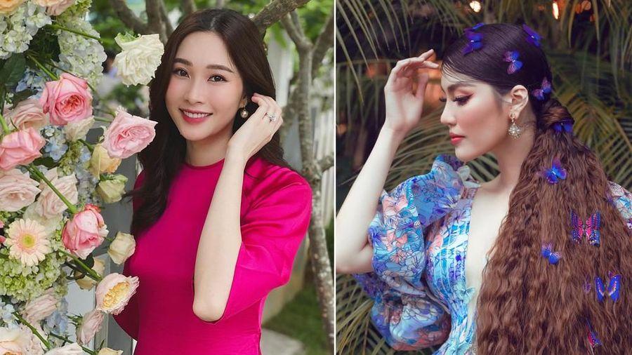 Đặng Thu Thảo tái xuất đẹp không tì vết, Lan Khuê chơi trội với mái tóc tựa 'Hàm Hương'