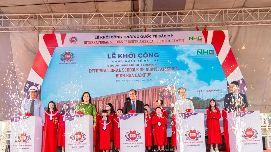 Khởi công xây dựng Trường Quốc tế Bắc Mỹ - SNA Biên Hòa