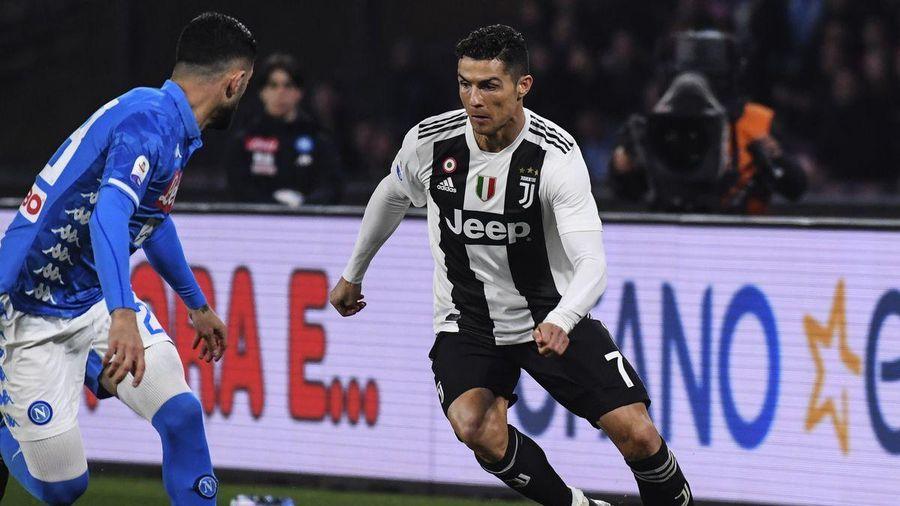 Lịch thi đấu bóng đá Serie A vòng 3: Juventus đấu Napoli