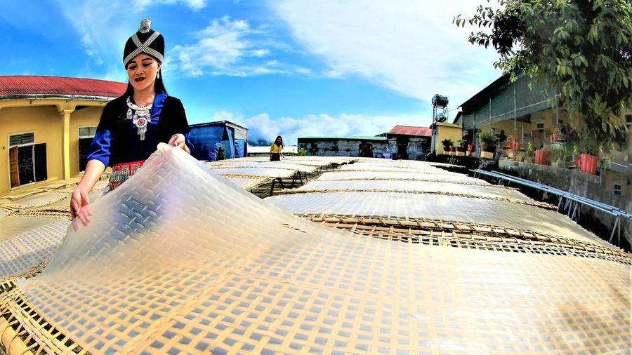 Miến dong trên đất Pu Xai Lai Leng - Kỳ Sơn