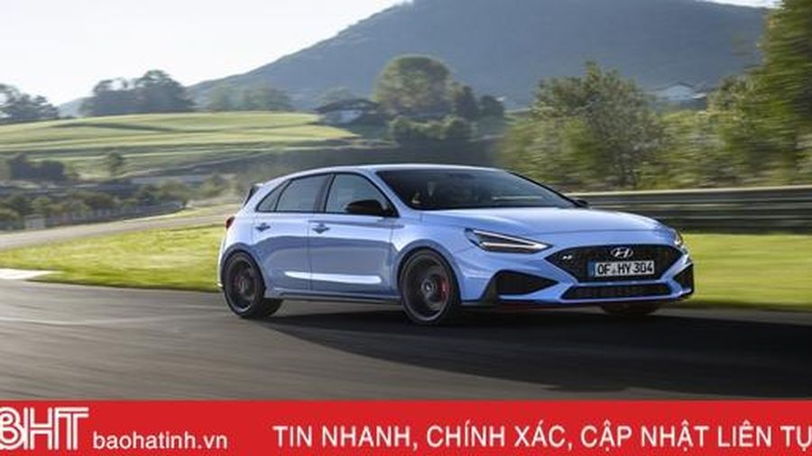 Hyundai tung ra bản nâng cấp cho hatchback hiệu năng cao i30 N