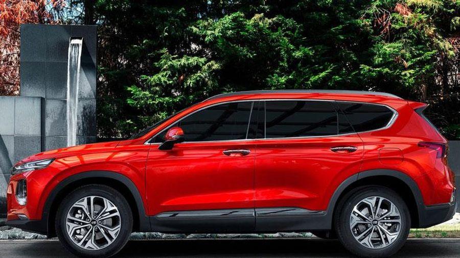 Giá lăn bánh Hyundai Santa Fe, đối thủ của Toyota Fortuner, Honda CR-V