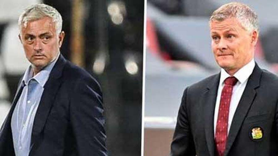 Mourinho đáp trả Solskjaer 'cực gắt' sau khi Tottenham bị cầm hòa