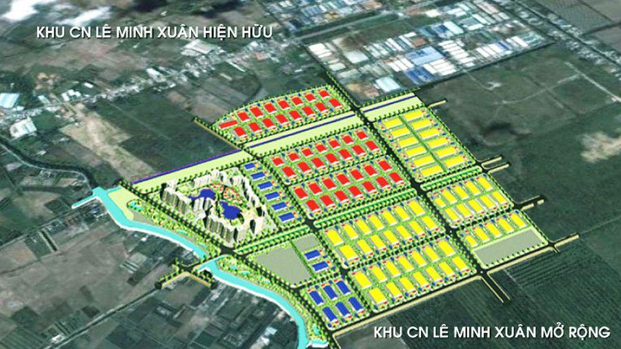 Phân kỳ đầu tư dự án Khu công nghiệp Lê Minh Xuân mở rộng