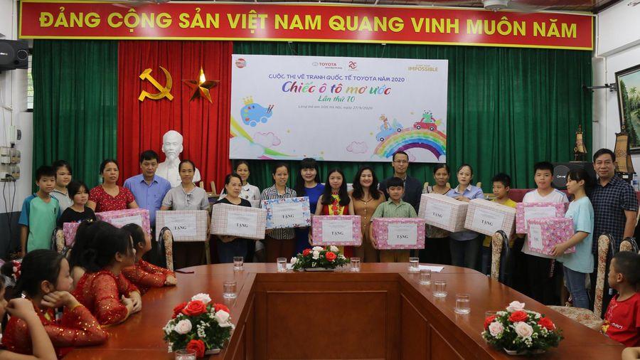 Giao lưu tặng quà 'Trung thu cho em 2020' tại làng trẻ em SOS