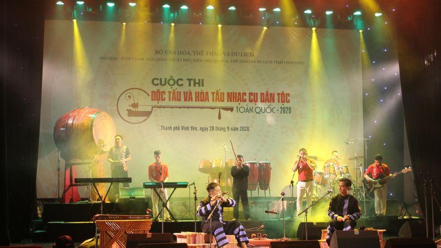 Thi độc tấu và hòa tấu nhạc cụ dân tộc toàn quốc năm 2020 tại Vĩnh Phúc