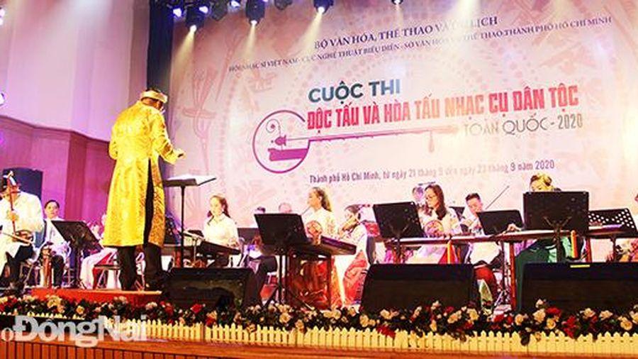 Dấu ấn đẹp của Đồng Nai ở liên hoan nhạc cụ dân tộc toàn quốc