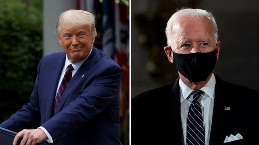 Trump 'thách' Biden xét nghiệm chất kích thích trước buổi tranh luận đầu tiên