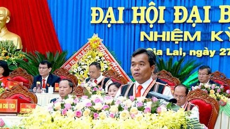 Ông Hồ Văn Niên tái đắc cử chức danh Bí thư Tỉnh ủy Gia Lai