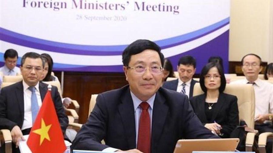 Hội nghị Bộ trưởng Ngoại giao Mê Kông - Hàn Quốc lần thứ 10