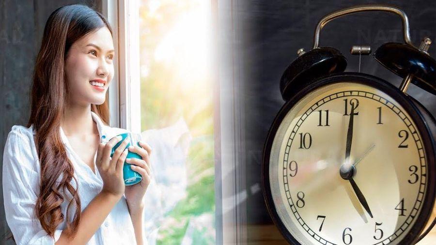 Lợi ích khi dậy sớm mỗi ngày