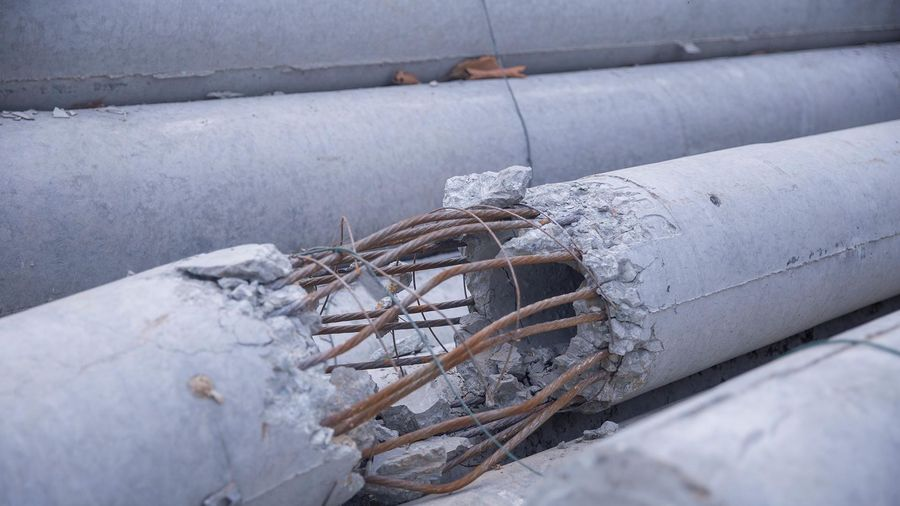 Nhà sản xuất không hiểu vì sao cột điện bị gãy sau 3 lần kiểm định