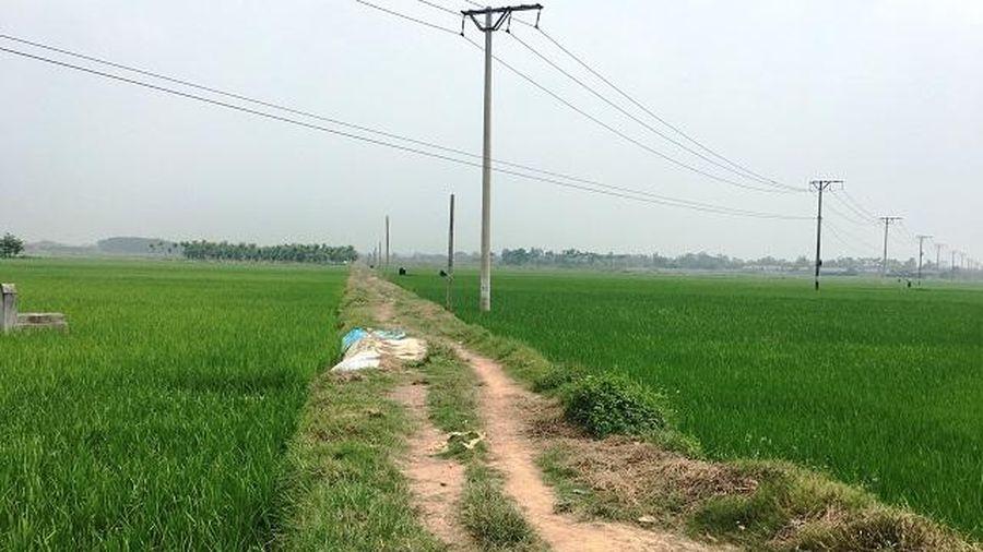 Xã Tam Đồng, huyện Mê Linh: Thiếu kinh phí nâng cấp giao thông nội đồng