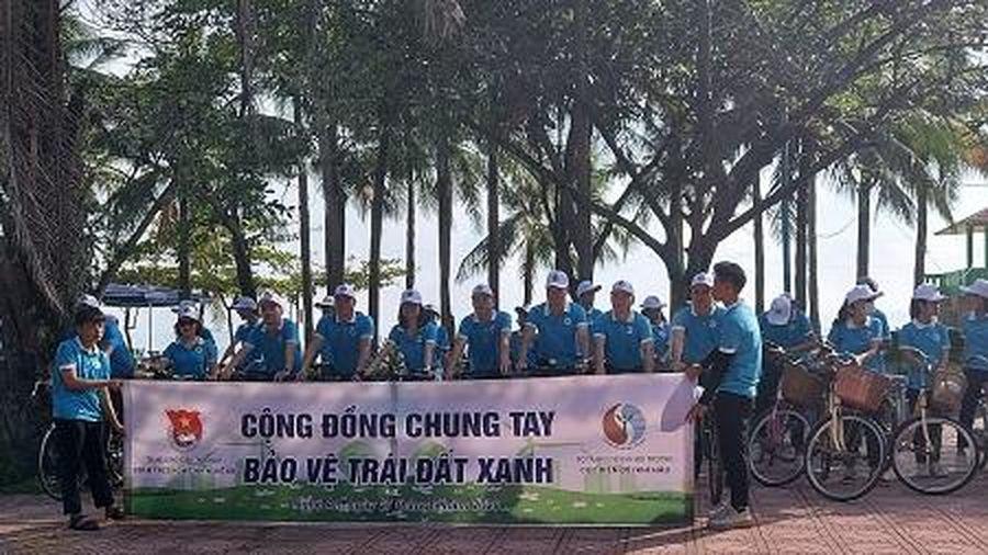 Tổ chức ngày hội 'Cộng đồng chung tay bảo vệ trái đất xanh'