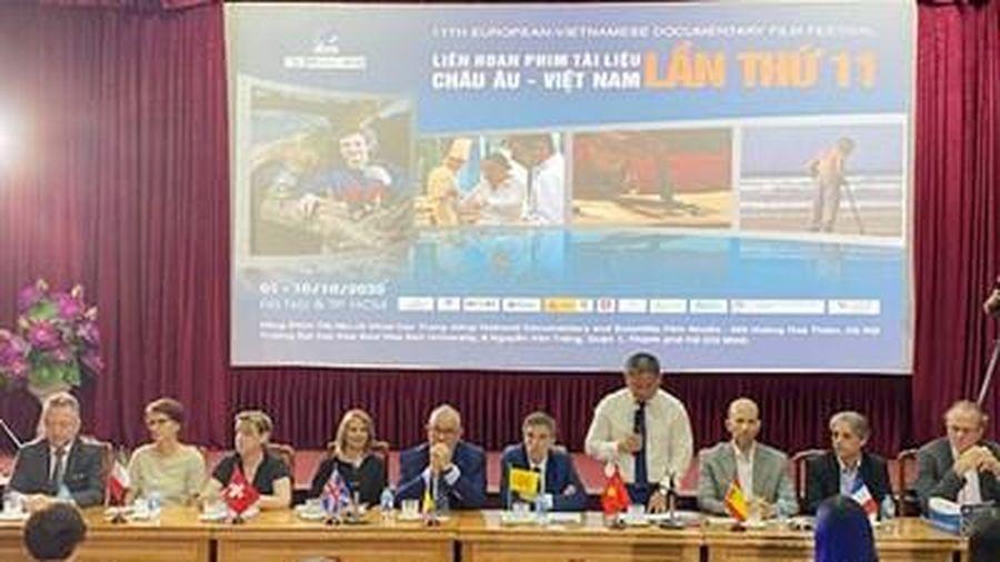 22 tác phẩm điện ảnh tham gia Liên hoan phim Tài liệu châu Âu-Việt Nam
