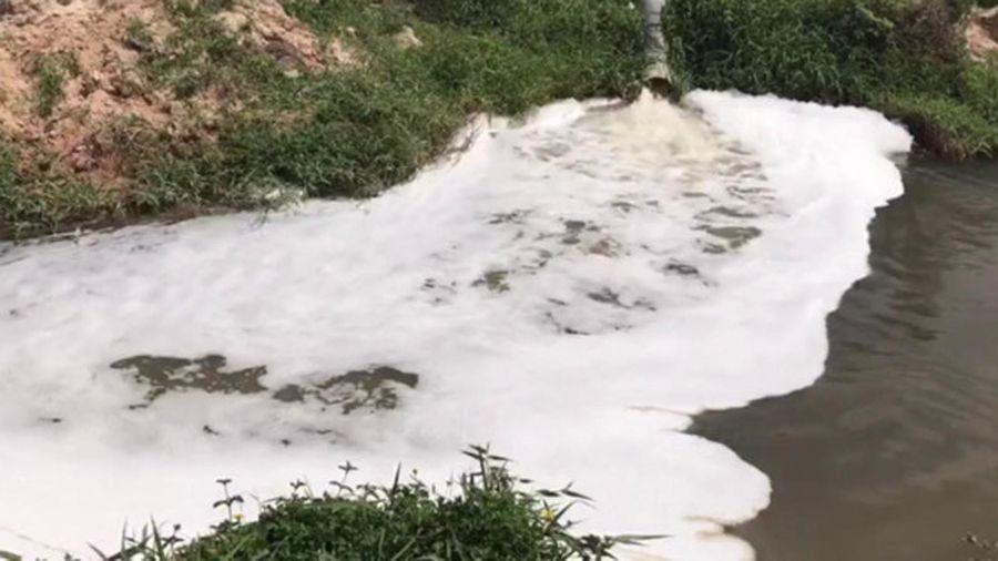 Bình Dương phạt nhiều doanh nghiệp xả chất thải ra suối