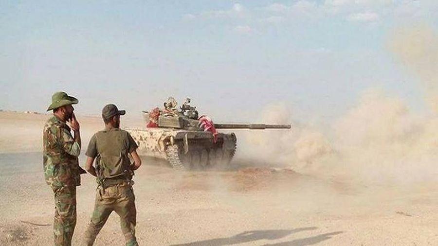 Quân đội Syria công phá thành trì của khủng bố tại Latakia