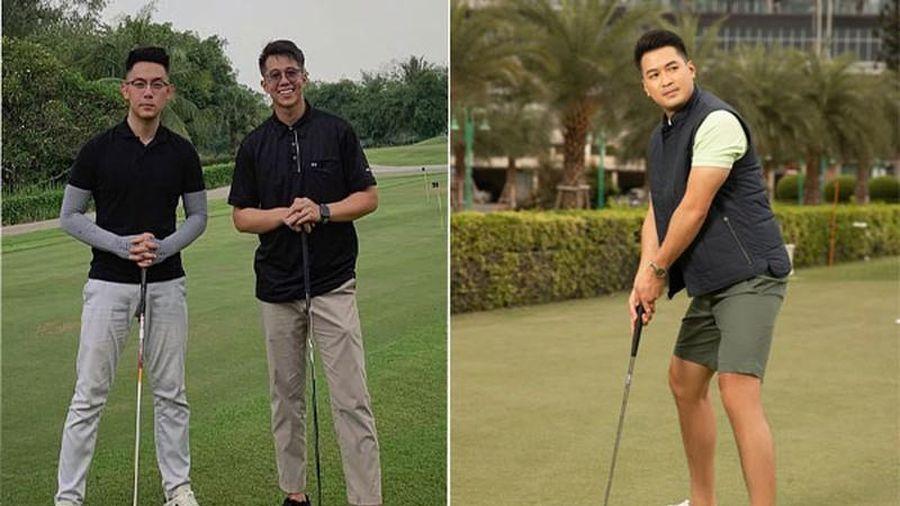 Ngắm các thiếu gia Việt đình đám check-in mòn giày trên sân golf
