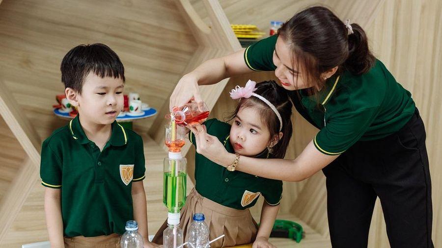 Trường Iris 'điểm nhấn' của ngành giáo dục Thái Nguyên