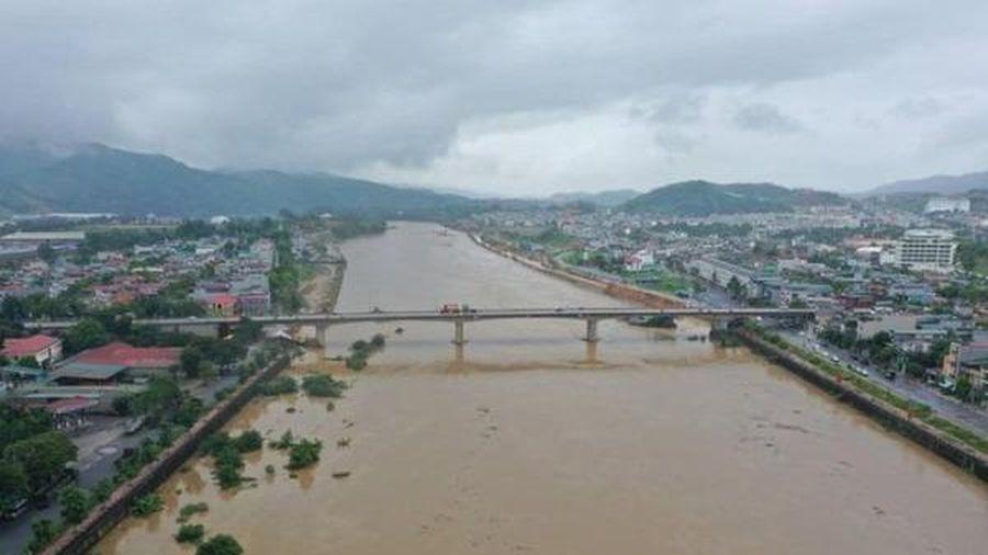 Lưu ý kịch bản đột xuất về mưa lũ trên sông Hồng