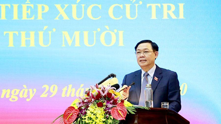 Bí thư Thành ủy Hà Nội: Giải quyết kiến nghị của cử tri không nói suông, nói là làm
